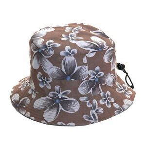 Unisex-Packable-Adjustable-Brown-Bush-Hat-Great-for-Holidays-amp-Music-Festivals