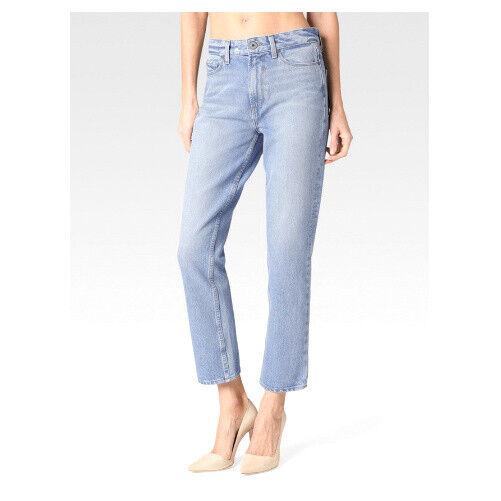 PAIGE Vintage NWT $229 Womens 28 x 27 High Rise Sarah Straight Jeans Sachi Wash