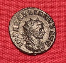 Ancient Roman Aurelianus Silvered Antoninian, Extra Patina!