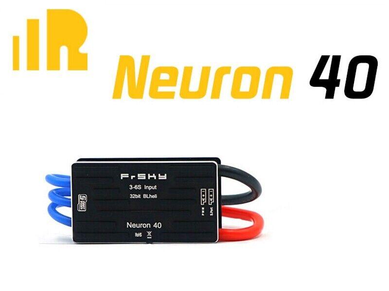 Frsky regulador neurona 40-esc neurona 40a 2-6s sbec 7a 5-8,4v con telemetry