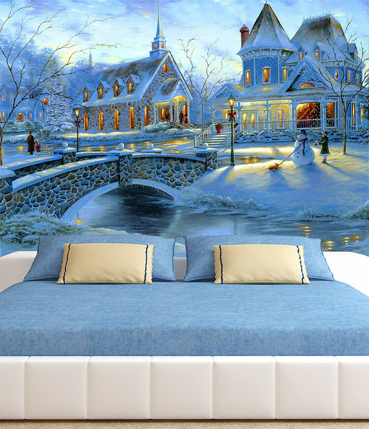 3D Castle Light 707 Wallpaper Murals Paper Wall Print Wallpaper Mural UK
