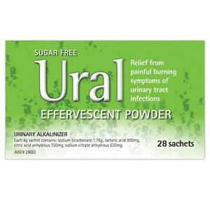 URAL-effervescent-powder-sachet-28-URINARY-TRACT-INFECTION-RELIEF-uti-CYSTITIS