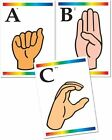 Sign Language Learning Cards With Braille 9780742406254 by Instructional Fair