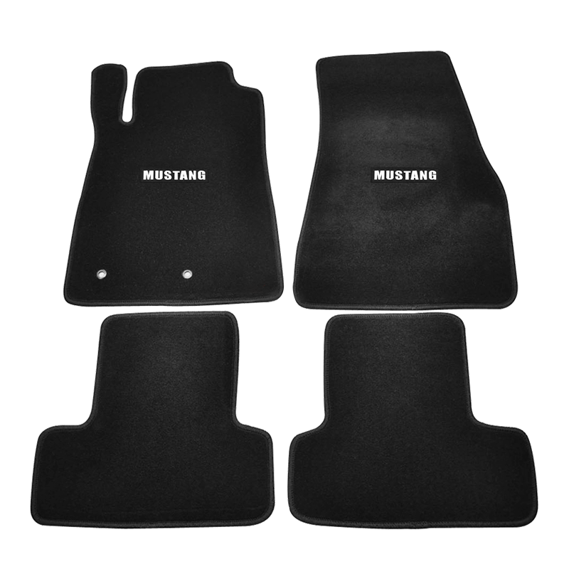 Trim Perfect fit Black Carpet Car Floor Mats Tailored for Ford Capri Mk1 69-74