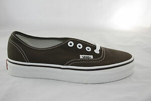 Detalles de Para HOMBRE VANS auténtico CLASSICS Zapatos De Lona Todas las Tallas Espresso VN-0EE3ESP- ver título original