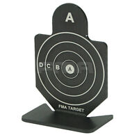 Airsoft Shooting Aim Black Target For Bb Pellet Practice Target A Group Of Six