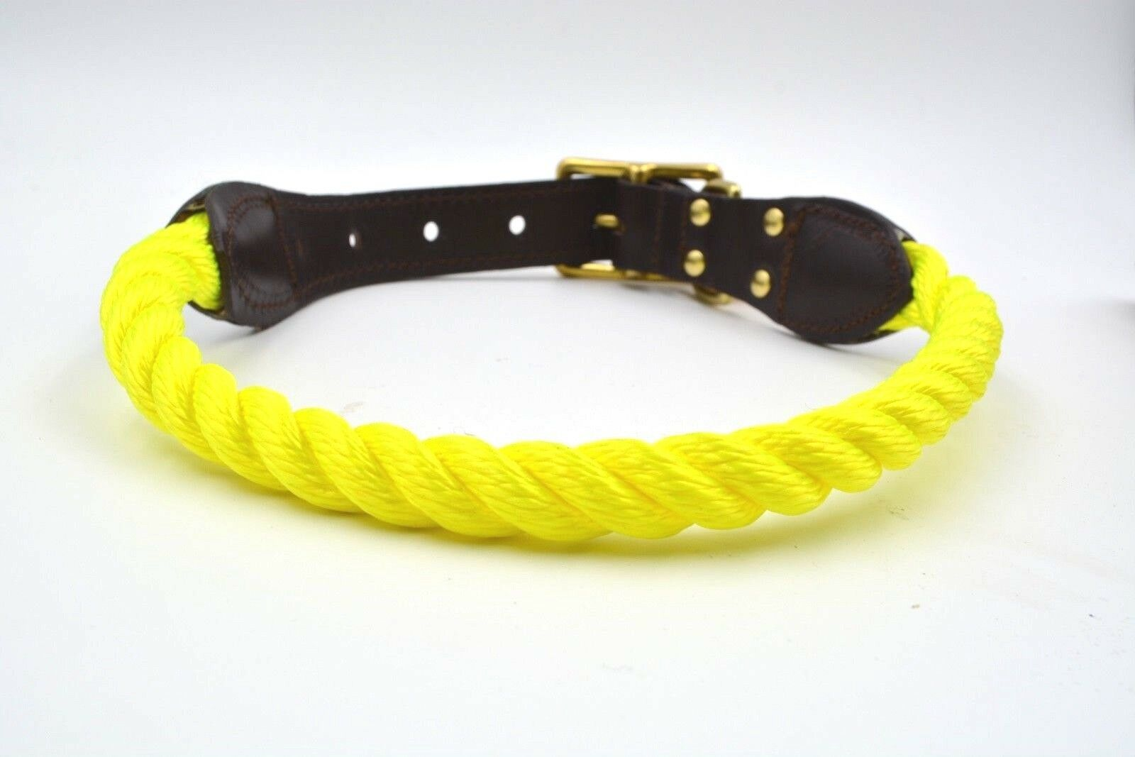 Found My Animal Neon giallo Rope Rope Rope Collar 853ceb