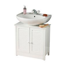 Sotto Lavello Armadietto da bagno in legno bianco con doppia porta dell' otturatore ARREDO CASA