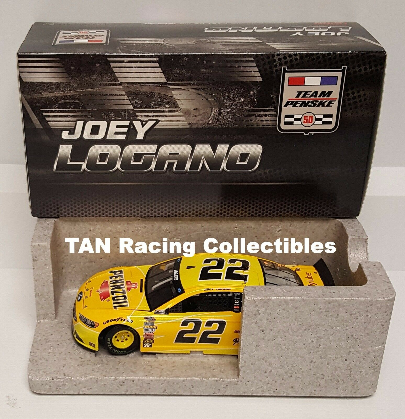 Joey Logano 2016 Lionel  22 Pennzoil Ford Fusion 1 24 FREE SHIP