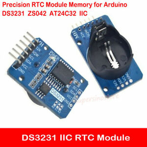 Details about DS3231 ZS042 AT24C32 IIC Precision Real Time Clock RTC Module  Memory for Arduino