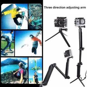 Protable Foldable Selfie Stick Handheld Monopod Tripod for GoPro Hero 5Black 4 3