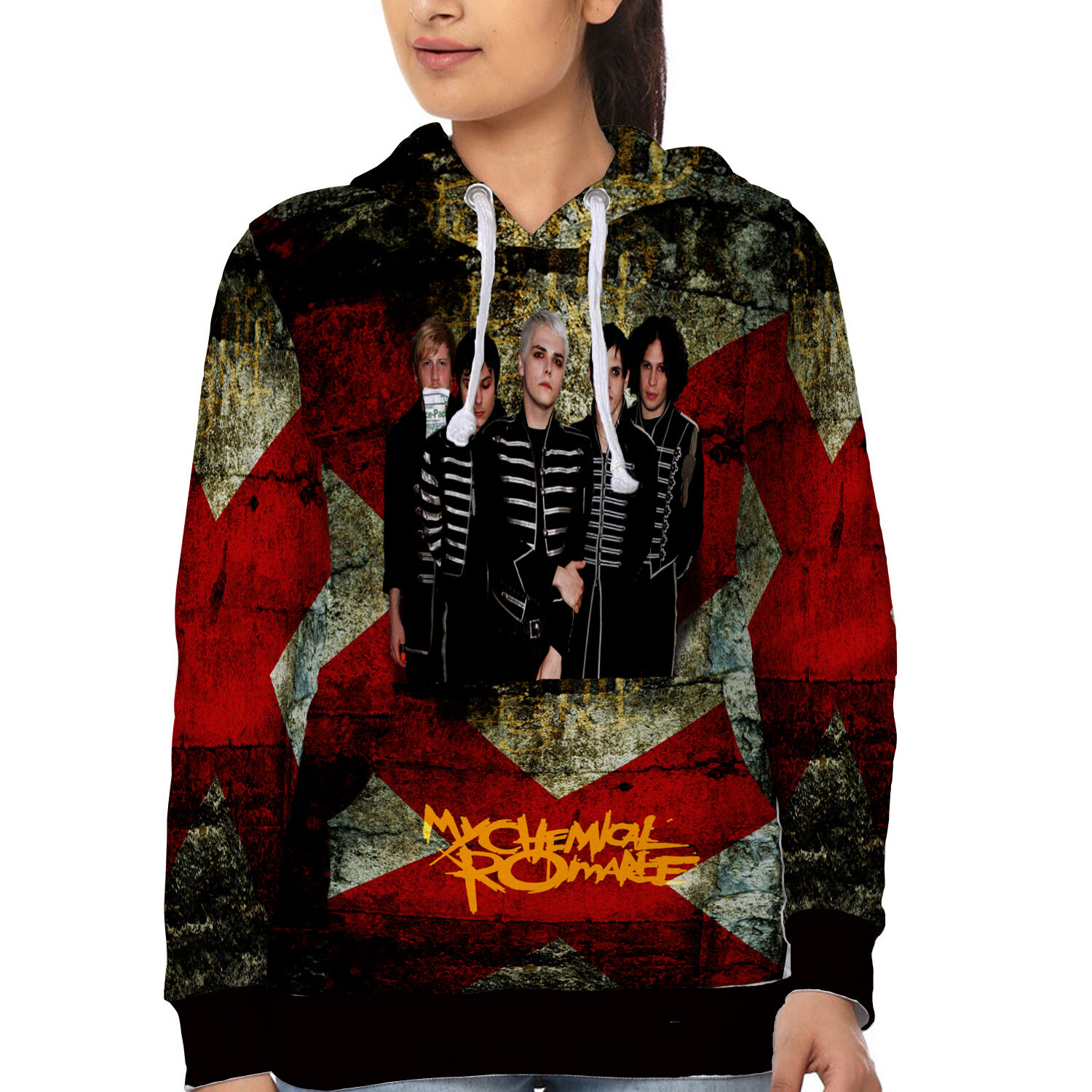 My Chemical Romance Womens Hoodie Sweatshirt