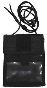 Brustbeutel-Brusttasche-Umhaengebeutel-Geldboerse-schwarz-aufklappbar-MFH-Outdoor