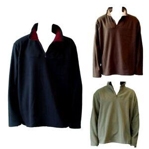 NEW-Men-039-s-Big-amp-Tall-Plus-Size-Polar-Fleece-Jumper-Pullover-Sweater-3XL-6XL