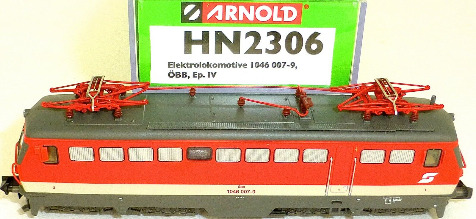 ÖBB serie 1046 007 9 ellok epiv DSS kkk Arnold hn2306 n 1 160 OVP hr3 Å