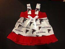 Atlanta Falcons Girls Baby Toddler Cheerleader Outfit