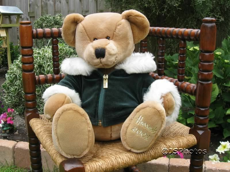 Harrods Large Foot Dated Christmas Bear 2001 2001 2001 b1a62b