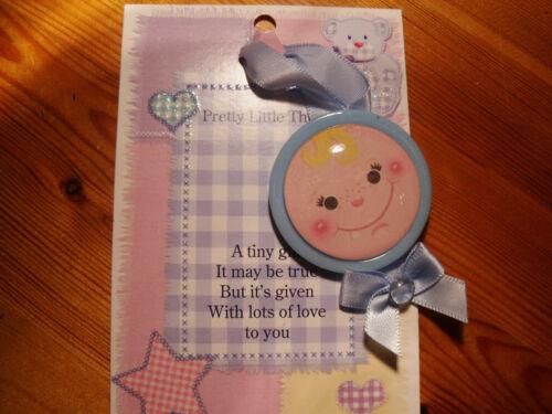 GREAT GIFT IDEA BOY NEW BABY PRAM or CRIB HANGER LITTLE ONE BABY GIRL