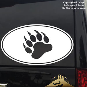 Gay Bear Sticker Oval