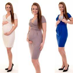 Umstandsmode Umstandskleid Schwangerschaftskleid Stillkleid Umstands Tunika D12