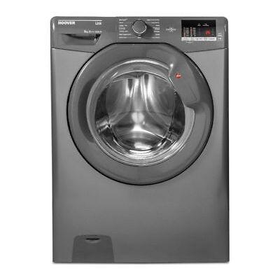 HOOVER Link DHL 1482D3R Smart 8 kg 1400 rpm Washing Machine - Graphite - Currys