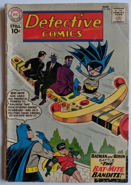Detective Comics #289 DC Comic 1961 Batman Robin Sheldon Moldoff Bat-Mite