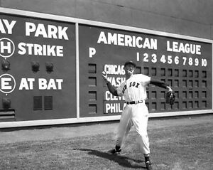 Boston-Red-Sox-TED-WILLIAMS-Fenway-Park-Glossy-8x10-Photo-Print-Poster