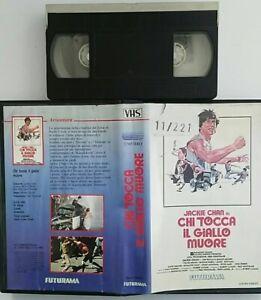 Chi-Tocca-Il-Giallo-Muore-VHS-Futurama-Usato-Ex-Noleggio