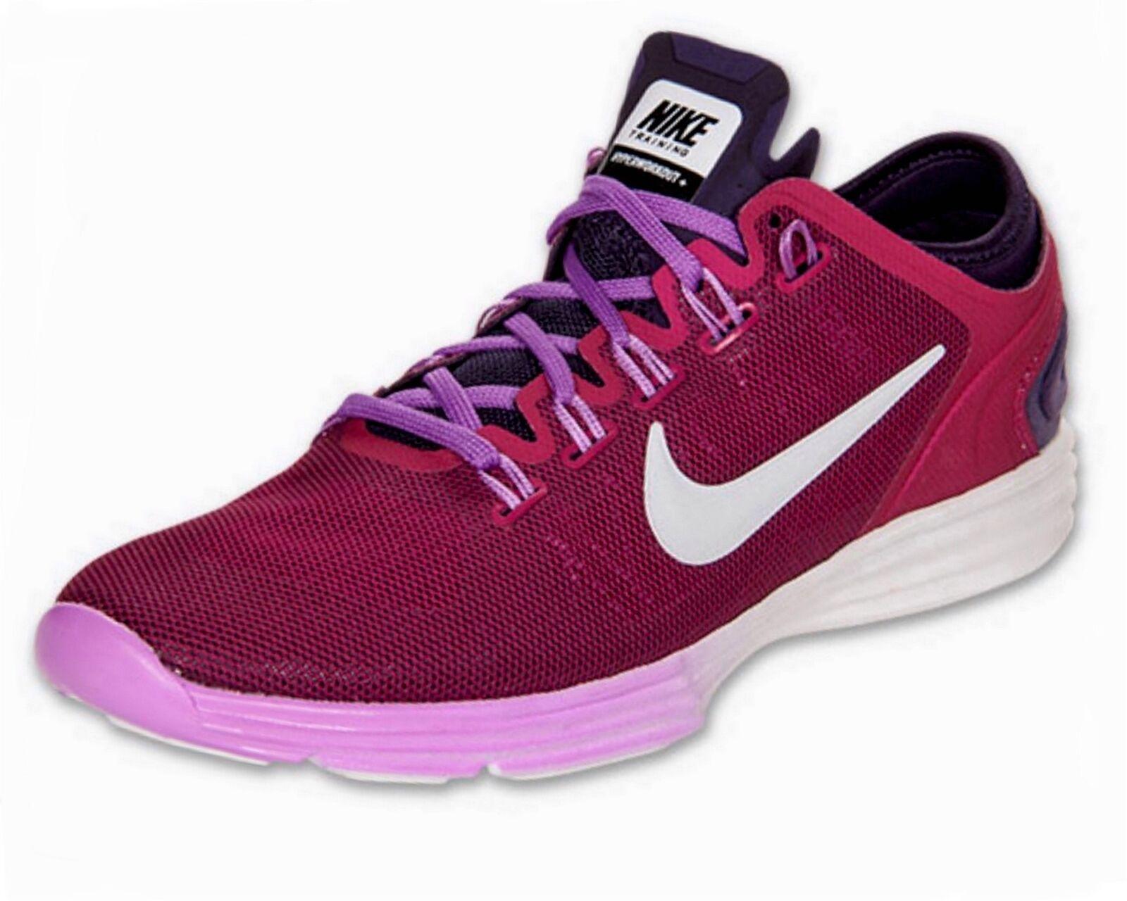 New NIKE Women's Pink Lunar Hyperworkout XT+ Running Training shoes Sneaker  110