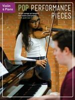 Pop Performance Pieces 10 Hit Songs For Violin And Piano Book 014048348