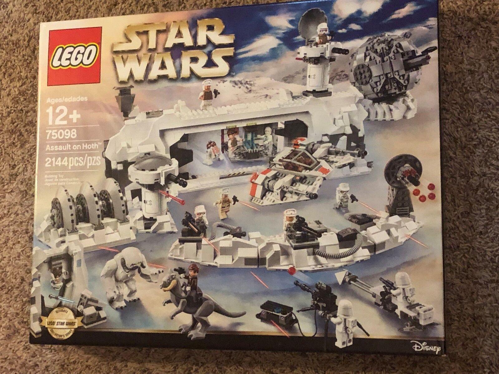 Stjärnornas krig LEGO 75098 ASAULT PÅ varmH NYA SEALERADE MYCKET RYCKLIGA FIGURER