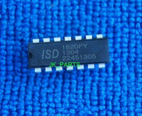 5pcs New Original ISD1820PY ISD1820 Chip 8-20s DIP-14