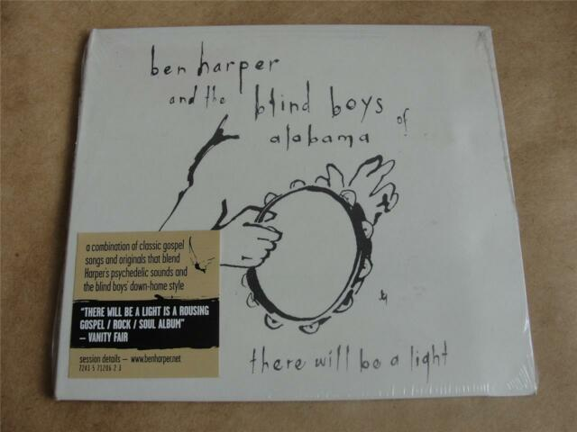 BEN HARPER & The BLIND BOYS OF ALABAMA  There Will Be Light  CD  SEALED