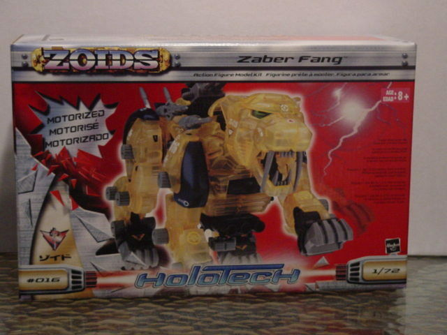 Zoids Holotech Zaber Fang Mint in Box