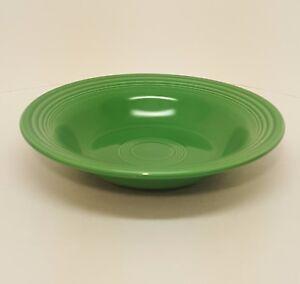 Image is loading Vintage-Fiestaware-Medium-Green-Deep-Plate-Fiesta-Rimmed- & Vintage Fiestaware Medium Green Deep Plate Fiesta Rimmed Soup Bowl ...