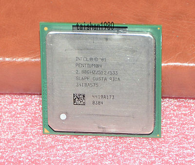 Intel Pentium 4 3.06GHz 512KB 533MHz CPU Socket 478 PC Processor SL6PG SL6S5