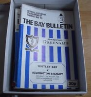 Northern Club Football Programme Collection (24) all listed