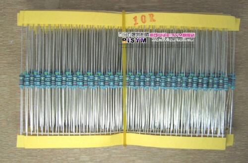 1/% 1//4W Metal Film Resistor Samples kit 30values x 20pcs = 600pcs