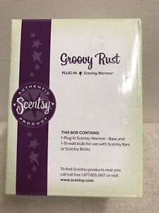 Details about Scentsy GROOVY RUST Plug In Warmer