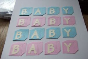 16  BABY BLOCKS PINK amp BLUE - <span itemprop='availableAtOrFrom'>Worksop, United Kingdom</span> - 16  BABY BLOCKS PINK amp BLUE - Worksop, United Kingdom