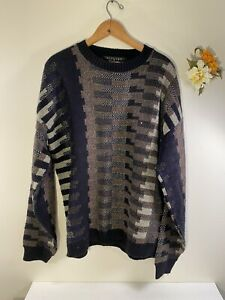 Protege-Collection-Sweater-Vintage-Coogi-Style-Mens-Size-L