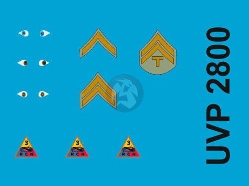 3 Figures Verlinden 2800 UVP2800 Peddinghaus 1//35 US Mechanics Insignia WWII