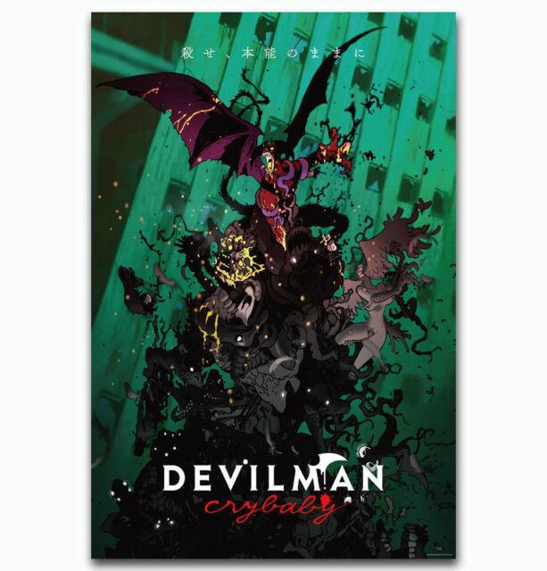 N-119 Fashion Devilman Crybaby Silk Poster 12x18 24x36 27x40