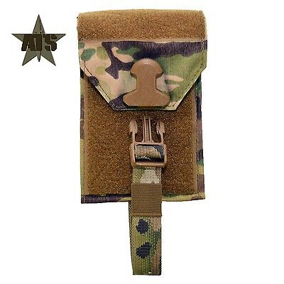 ATS Tactical Small Medical Pouch BACK PANEL-Multicam-Coyote-Ranger-Black-Wolf