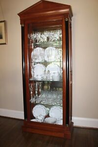 Image Is Loading Ethan Allen China Cabinet