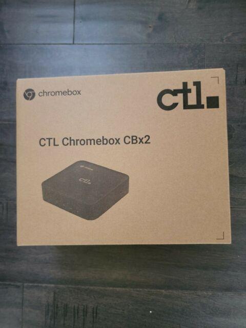 CTL Chromebox CBX2 (Celeron 5205 Comet Lake 4GB RAM/64GB Disk/Wifi-6)