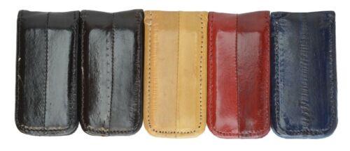 Genuine EEL SKIN Magnetic//Magnet Bill Holder//Money Clip Wallet