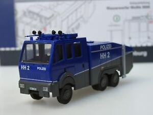 Rietze-Mercedes-Wasserwerfer-WaWe-9000-HAMBURG-HH2-lim-250-67820B-1-87