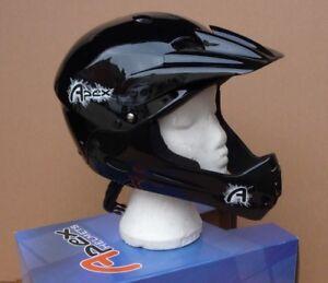HELMET-Full-Faced-APEX-MTB-Mountain-Bike-BMX-ATB-Enduro-DH-4X-Downhill-54-58cm
