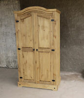 ikea fjell schrank kleiderschrank dielenschrank massivholz kiefer holz natur neu. Black Bedroom Furniture Sets. Home Design Ideas